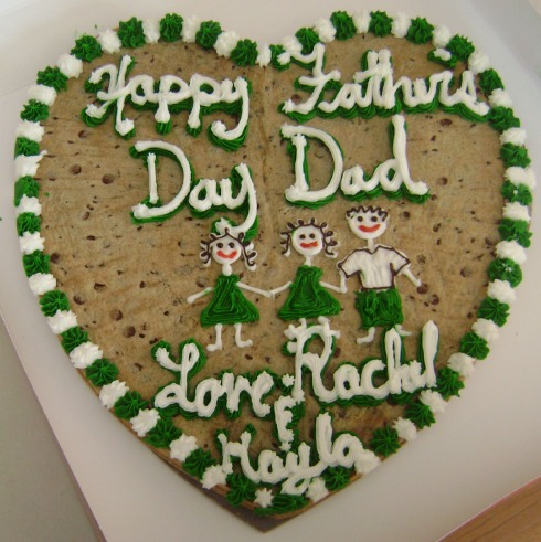 Father Day Cookie 2009 SMALL